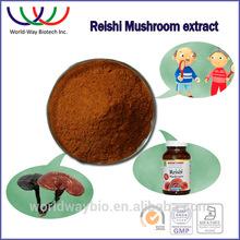 100% natural reishi polysaccharides 10% , top quality reishi mushroom extract triterpenes