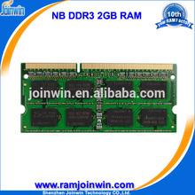 Shenzhen factory export laptop ddr3 2gb 8bits ram