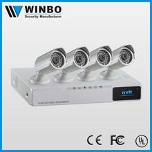 2015 New product POE IP System 4CH Megapixel CCTV NVR KIT
