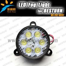 6500K White 3000K yellow led fog light 18W auto fog light lamp for Besturn B50 and B70