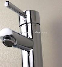 single brass long handle basin faucet taps for bathroom