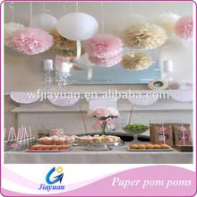 "35cm 14"" Tissue Paper Pom Poms Home Decoration"
