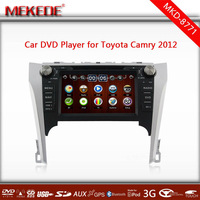 powerful CPU MTK3336NCG running speed faster Car Autoradio DVD GPS player for toyota camry 2012 with BT IPOD TV 1080p 3G