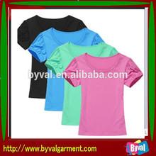 Cotton Women T-shirt With Custom Logo manufacture