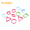 FDA/LFGB Food Grade Family/Kids Cute/Funny Different Shaped Colorful Plastic Cookie Cutter