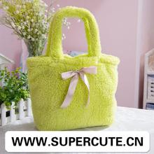 2014 Novelty bag design thick polyester blanket