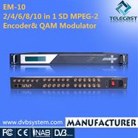 CVBS to Digital QAM Converter