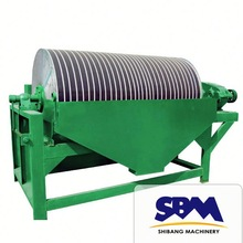 Hot sales high efficient magnetic mineral particle separator