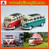 Wholesale diecast cars toy Licensed diecast bus model VW T1 retro bus model