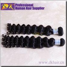Top Quality Virgin Human Hair Tangle Free Curly Malaysian Hair Weft