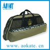 soft compound bow case with arrow case pocket for hunting gear