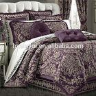 home use luxury jacquard bedding comforter sets