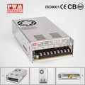 2- año de garantía del conductor del led ce aprobado de salida única 230v ca 24v convertidor de corriente continua