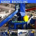 alta performance usado de resíduos de reciclagem de plástico máquina para pe e pp ps abs garrafa pet linha de planta