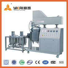 Mayonnaise processing machine, mixer used for mayonnaise, vacuum homogeneous emulsifier for sale