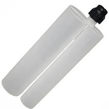 450ml 2:1 Double Epoxy Cartridge, Two-component Dispensing bottle ,plastic pip for caulking gun