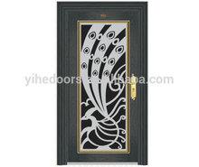 2014 Cheap Price House Front Door Design,Paint Colors Exterior Door Styles , Fire Rated Steel Security Door