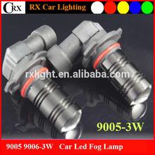 High Power 3W Car Fog 9005 Light 9006 Led 10-30V High Power Chip