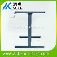 sit/stand vertical adjust range of 680mm - 1130mm manual desks