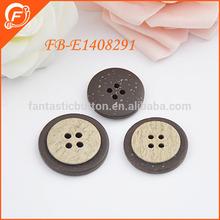 fantastic plastic imitation coconut sew button