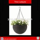 Garden Swing Basket Rattan Plant Pots Rattan Flower Vase Rattan Flower Pot Craft Hanging Flower Pot VL1056