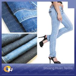 SH-W768 11.5oz Wholesale 98 Polyester 2 Spandex Denim Fabric