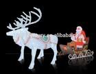 led christmas motif light deer cart led motif lights