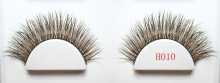 wholesale 100% handmake mix mink and fox fur eyelashes thick long eyelashes new product launch in china