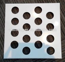 PE and PVDF powder coating shaped solid aluminum sheet