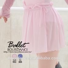 Ballet pull em ruched cintura saias ( saias de balé )