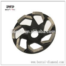 7 Inch diamond abrasive grinding wheel for concrete and masonry