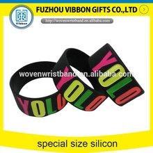 colorful silicone engraved bracelet love bracelet for kids