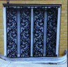 WH14W114 decorative luxury iron grill window door designs