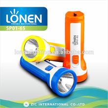 LONEN 0.5W super power single bulb handheld pocket rechargeable emergency light torch