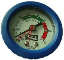bourdon tube pressure gauge wika type