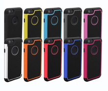 Silicon+Plastic football skin smart phone case for iphone 6
