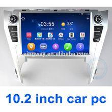 2014 High Tech 10inch double din car dvd gps CE FCC ROHS