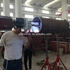 Welding steel pipe / Pipe welding machine