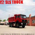 Beiben 80km/h max velocidad hidráulico de campo petrolífero de arena de transporte camiones cisterna