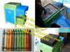 Colourful wax pencil maker/wax crayon maker/ hydraulic wax pencil making machine