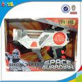 Eletrônico gun com luz e espaço som kids play brinquedos brinquedos pistola
