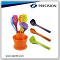 nylon colorato set di utensili da cucina