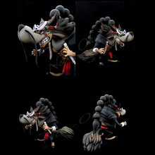 Japanese movie wolf resin animal craft custom Anime Figures made in china