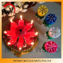 amazing lotus birthday candle kids party suplies