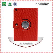 New arrival 360 rotating PU leather case for iPad mini