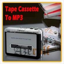 Capture Adapter Digital Audio Music Player Cassette Tape to MP3 Converter