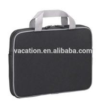 black polyester 15.5 inch laptop sleeve