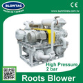 MRT-125W-2S two stages 2 bar high pressure positive displacement blower and compressor