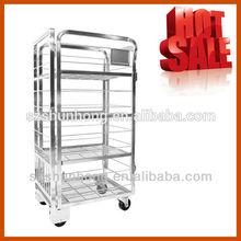 metal supermarket milk roll cage