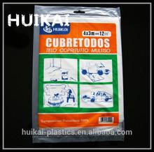 wholesale transparent pe polythylene plastic cover sheet, waterproof sheet, thin dust sheet